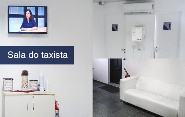 Sala do taxista